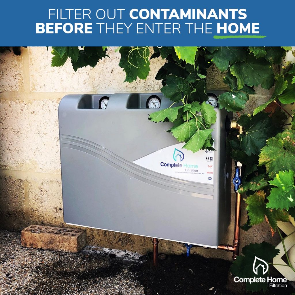 Filter out contaminants